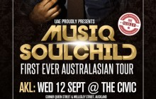 Musiq Soulchild Australia and New Zealand Tour  Announcement