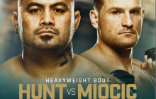 MARK HUNT vs STIPE MIOCIC
